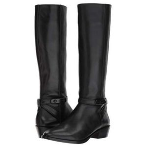 NWOB Coach Caroline Extended Calf Leather Boots